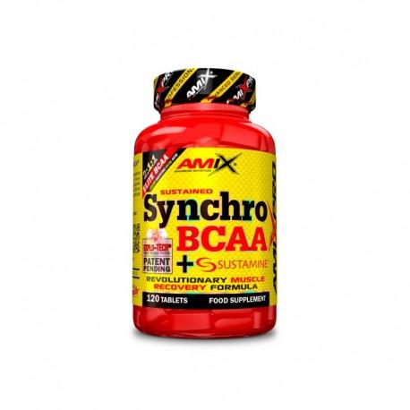 Synchro BCAA + Sustamine -120 tabletas- de Amix Pro
