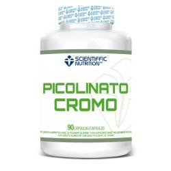 Picolinato Cromo (90 Cápsulas) Scientiffic Nutrition