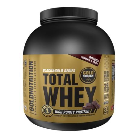 Total Whey (CON PREBIÓTICOS Y PROBIÓTICOS 2 kg) GoldNutrition