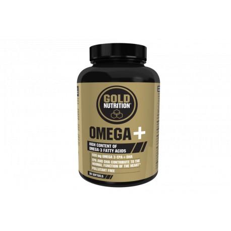 Omega + -90 Softgels- de Gold Nutrition