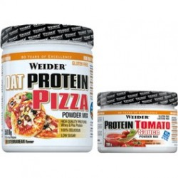 Pack Oat Flour Pizza + Protein Tomato (500 gr) Weider