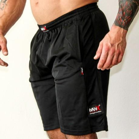 MNX BLACK LINE FUNCTIONAL MESH SHORTS(Mns Sportswear))