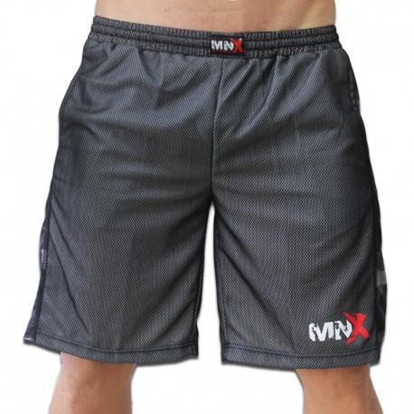 MNX ARMY LINE MESH SHORTS (Mnx Sportswear))
