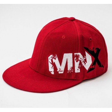 MNX SNAPBACK TAPA CERRADA, ROJO (Mnx Sportswear))