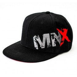 MNX SNAPBACK CIERRE COMPLETO, NEGRO (Mnx Sportswear)