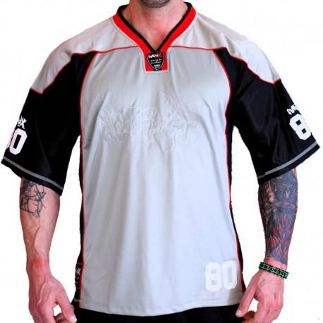 CAMISETA DE FÚTBOL MNX NO. 80, GRIS (Mnx Sportswear))