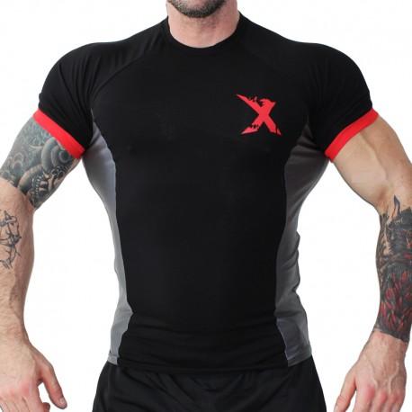 MNX FOOTBALL TEE No. 80. Grey (Mnx Sportswear)