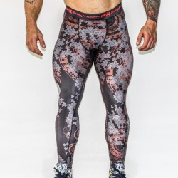 MNX MEN'S LEGGINGS BONES TO BONES (Mnx Sportswear)