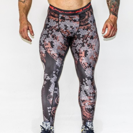 MNX MEN'S LEGGINGS BONES TO BONES (Mnx Sportswear)