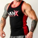 MNX RED LINE RIBBED TANK TOP (Mnx Sportswear)