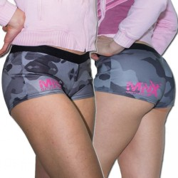 MNX WOMENS CAMO LOOK SHORTS (Mnx Sportswear)