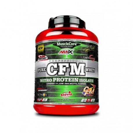 Pure CFM whey nitro (2 kg) De regalo Amino X