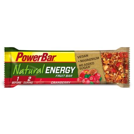 Barrita Natural Energy Fruit (40 gramos) de PowerBar