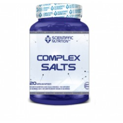 Complex Salts (90 cápsulas) de Scientiffic Nutrition
