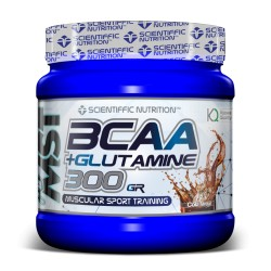 Bcaa + Glutamine (500 Gramos) Scientiffic Nutrition