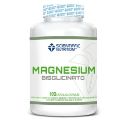 MAGNESIO BISGLICINATO (90 CÁPSULAS) Scientiffic Nutrition