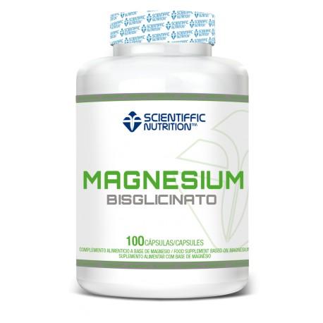 MAGNESIO BISGLICINATO (90 CÁPSULAS) Scientiffic Nutrition
