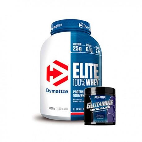 Elite whey protein + Gutamina (2,27 kg) Dymatize