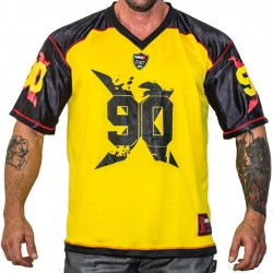 FOOTBALL TEE MNX NO. 90, YELLOW (Mnx Sportswear)