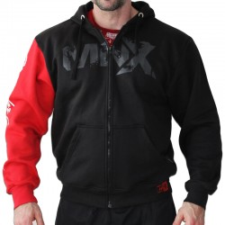 MNX HOODIE RED SLEEVE (Mnx Sportswear)