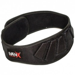 MNX GYM BELT BASIC MESH, BLACK (Mnx Sportswear)