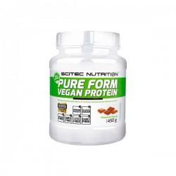 PURE FORM VEGAN PROTEIN (450 gramos) de Scitec Nutricion