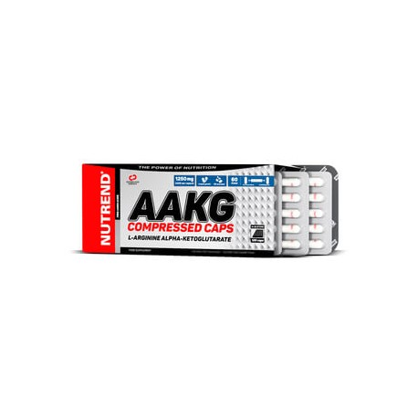 AAKG COMPRESSED (120 capsulas) Nutrend