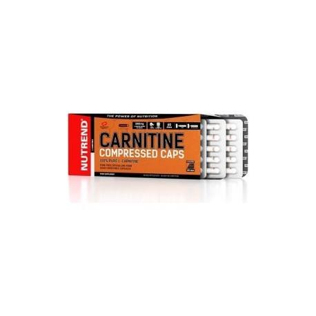 L-Carnitina Compressed -120 cápsulas- de Nutrend