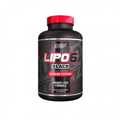 Lipo 6 Black (120 capsulas)
