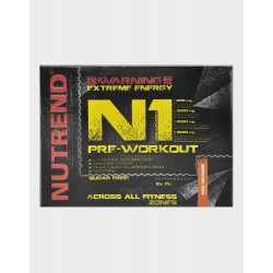 N1 Pre Workout (10x17 gramos) de Nutrend