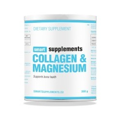 Colágeno y Magnesio (350 gramos) Smart Supplements