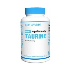 Taurina 3000 mg (90 cápsulas) Smart Supplements