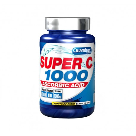 Super C 1000 (100 Tabletas) Quamtrax