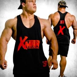 MNX Stringer Tank Top XMAN. Black (Mnx Sportswear)