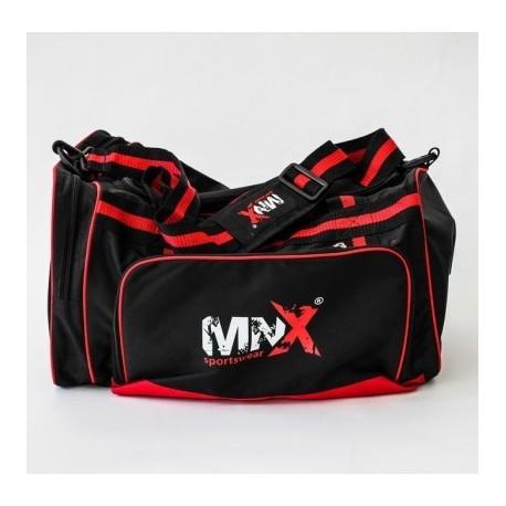 MNX Red&Black Gym Bag (Mnx Sportswear)