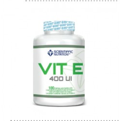 Vitamin E 400 (100 cápsulas) de Scientiffic Nutrition