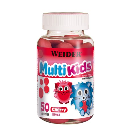 Multikids Up Cherry (50 gummies) de Weider