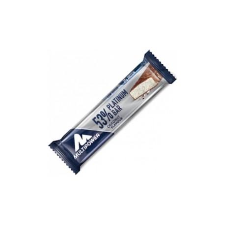 53% Platinum Protein Bar (50 gramos) Multipower