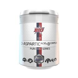 D-Aspartic Acid + B Complex Pharma Grade (120 cápsulas) de BIG