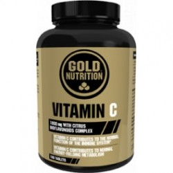 Vitamin C -100 tabletas- de Gold Nutrition