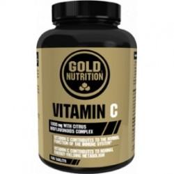Vitamin C -100 tabletas- de Gold Nutrition