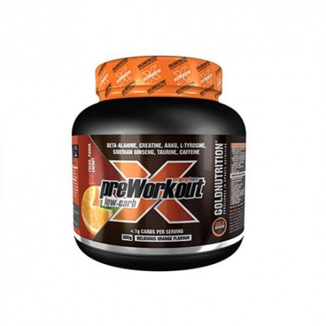 Extreme Force Pre-Workout Low Carb -300 gr.- Gold Nutrition