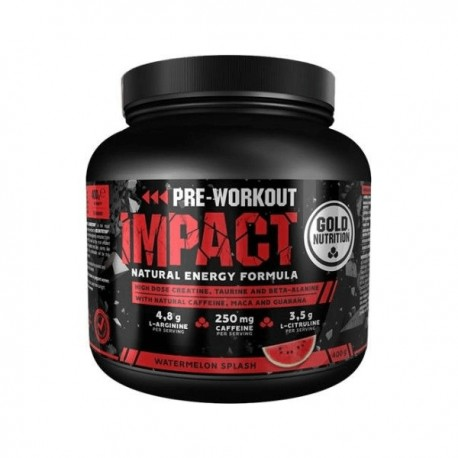 Impact Pre-Workout -400 gr.- Gold Nutrition