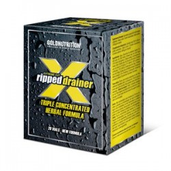 Extreme Cut Ripped Drainer -20 viales- Gold Nutrition