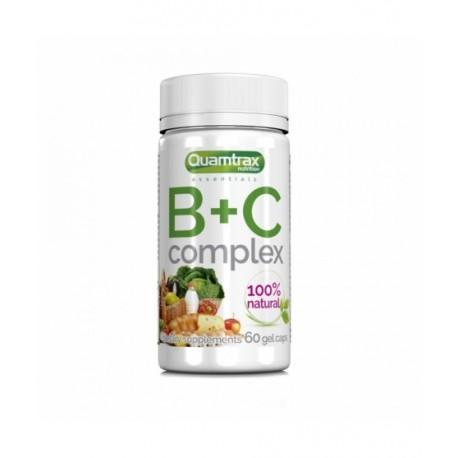 B+C Complex (60 cápsulas) Quamtrax