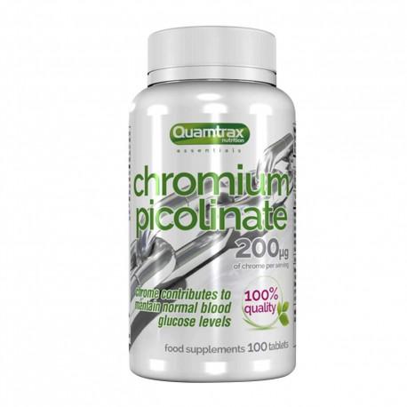 Picolinato de cromo (100 tabletas) Quamtrax