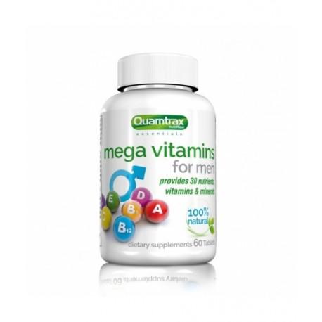 Mega Vitamins for Men (60 tabletas) Quamtrax