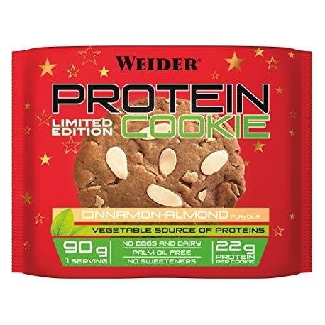 Vegan Protein Cookie -90 gr- weider cinnamon-almond