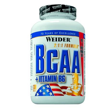 BCAA 1000 mg (260 tabletas) de Weider