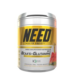 Need Bcaas & Glutamine (37 servings) de Need Health Project